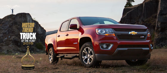 Motor trend Truck of the year 2015